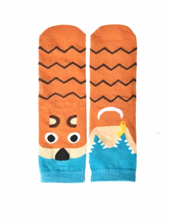 KID Fun Socks Brown Bear