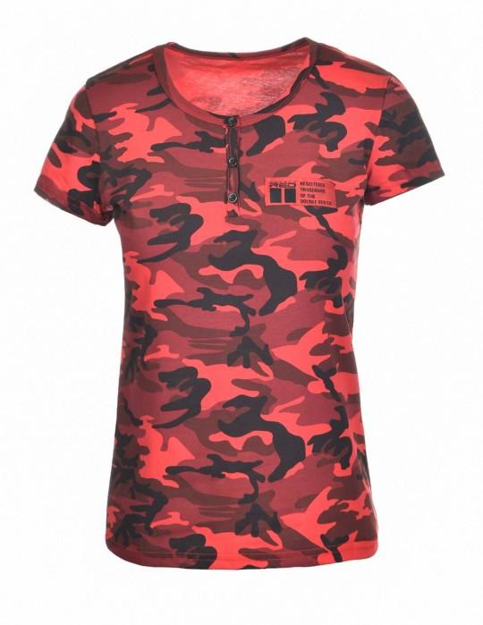 T-Shirt Camodresscode RedHell