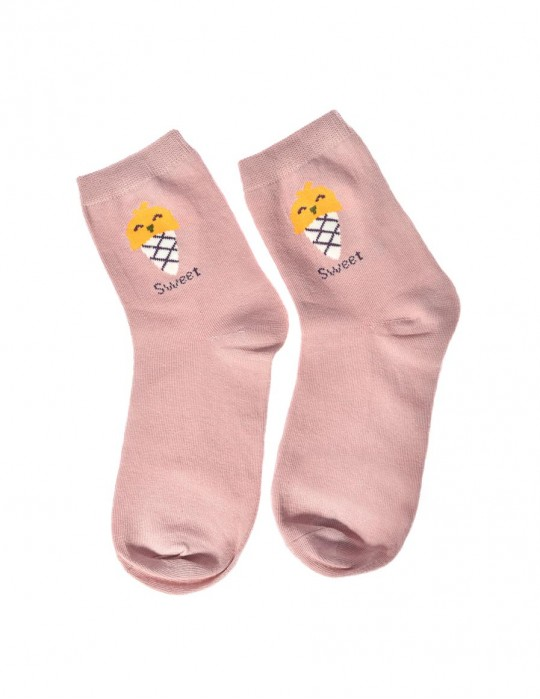 DOUBLE FUN Socks Sweet Ice  Light Purple