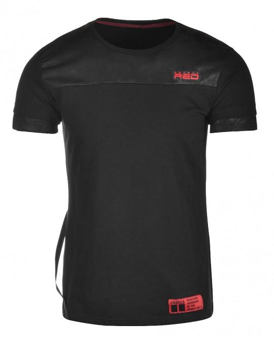 T-Shirt Brooklyn Black / Red