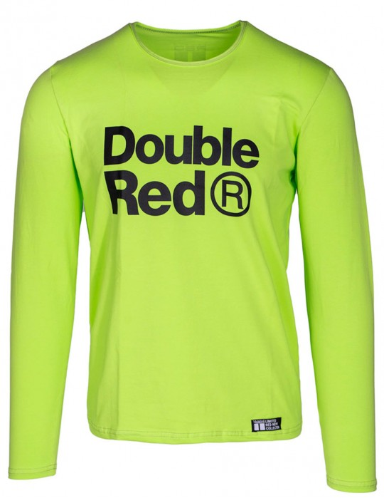 Red Neon Long Sleeve T-Shirt Green