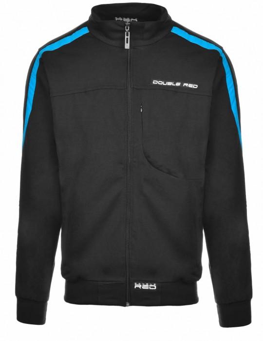 SweatShirt BROOKLYN Black/Blue