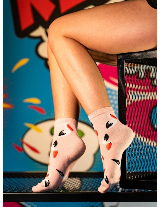 Women's FUN Socks Pelicans