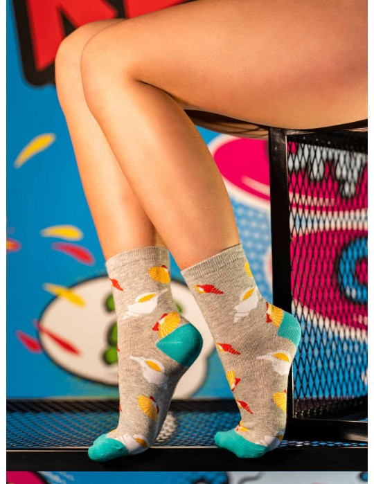 Women's FUN Socks Shells