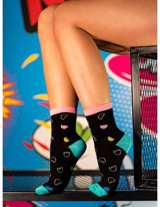 Women's FUN Socks Meduza