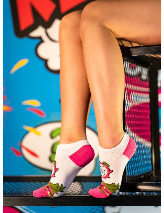 Women's FUN Low Cut Socks Pitahaya